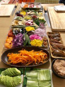 vegan sushi vegges
