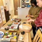 sushi making scene