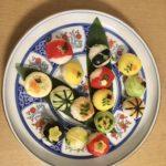 vegetarian temari sushi