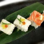 pressed sushi photo