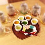 japanese tea tasting photo