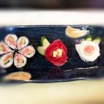 sushi-and-flower sashimi
