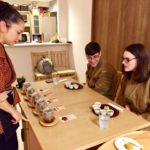 Japanese tea tasting time