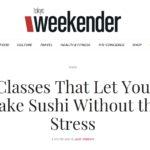 weekender magazine article