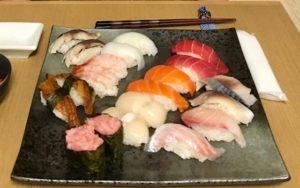 nigiri sushi students made