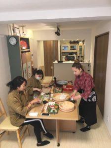teamari sushi making
