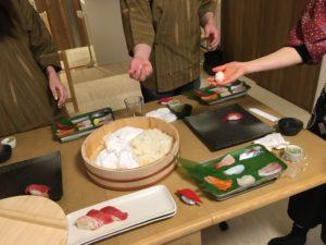sushi making time