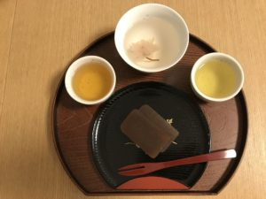 tea with sweets