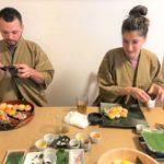 beautiful temari sushi