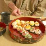 Temari sushi guest made