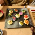 beautiful vegan temari sushi guest made