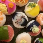 Amazing Temari sushi guests made