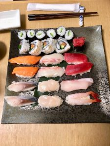 sushi the gues made