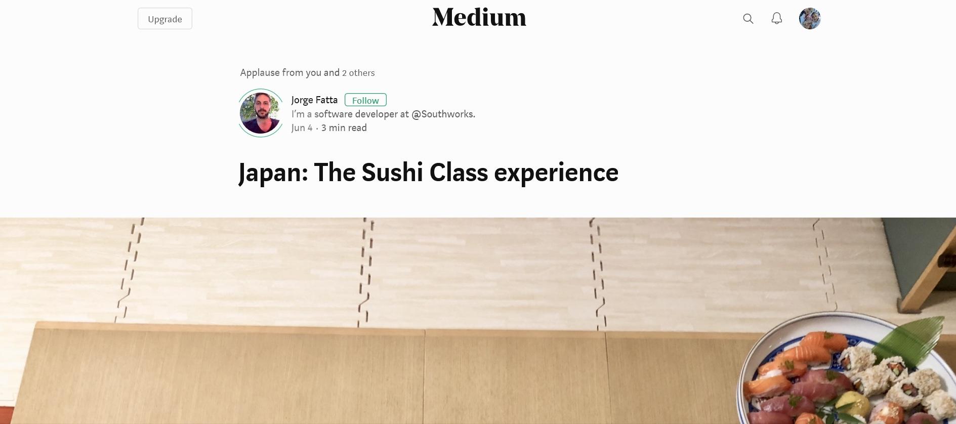 MEDIUM article