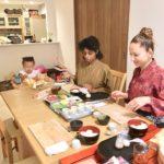 making Temari sushi
