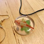 Carp fish necklace