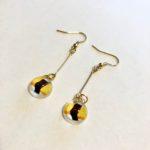 sushi earrings