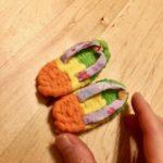 Miniature zori sandals