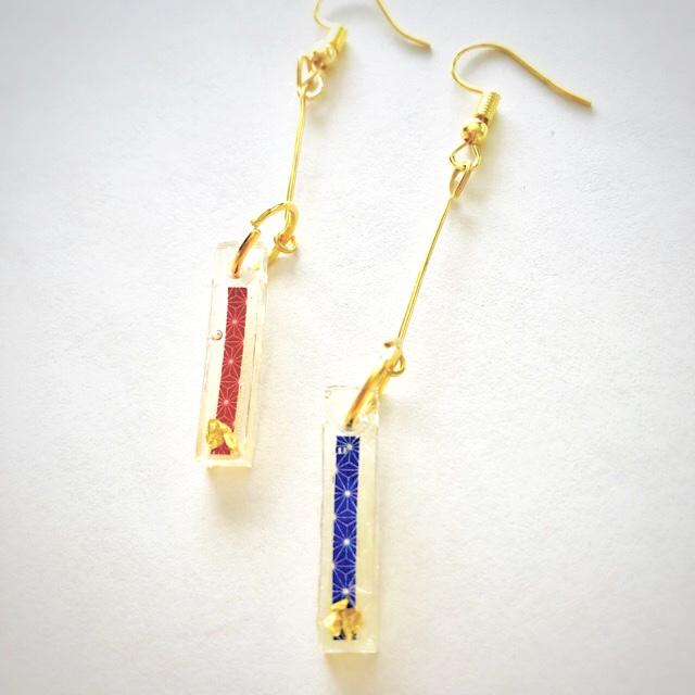 Japanse style earrings