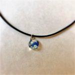 Japanese style choker necklace