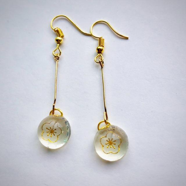Japanese style earrings