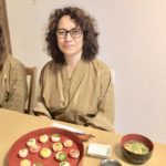 beautiful Temari sushi with the guest