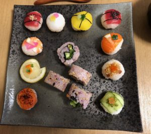 beautiful sushi