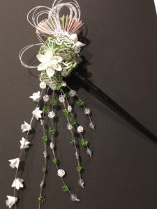 Japanese hair accessory Kanzashi