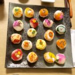 guest's beautiful temari sushi