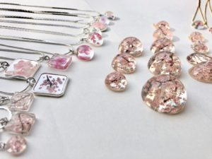 Our Sakura cherry blossom jewelry
