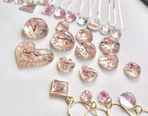 Our Sakura cherry blossom jewelry