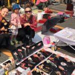 Sakura festival flea market