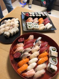 sushi Lucie made