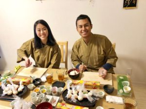 Temari sushi making is so fun!