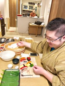 Extravagamza sushi making course