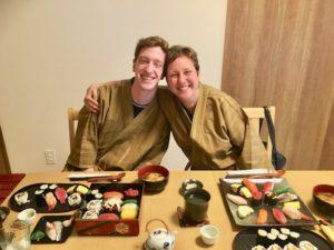 Etravaganza sushi making course