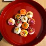 beautiful sushi the guest made