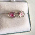Japanese Sakura stud earrings