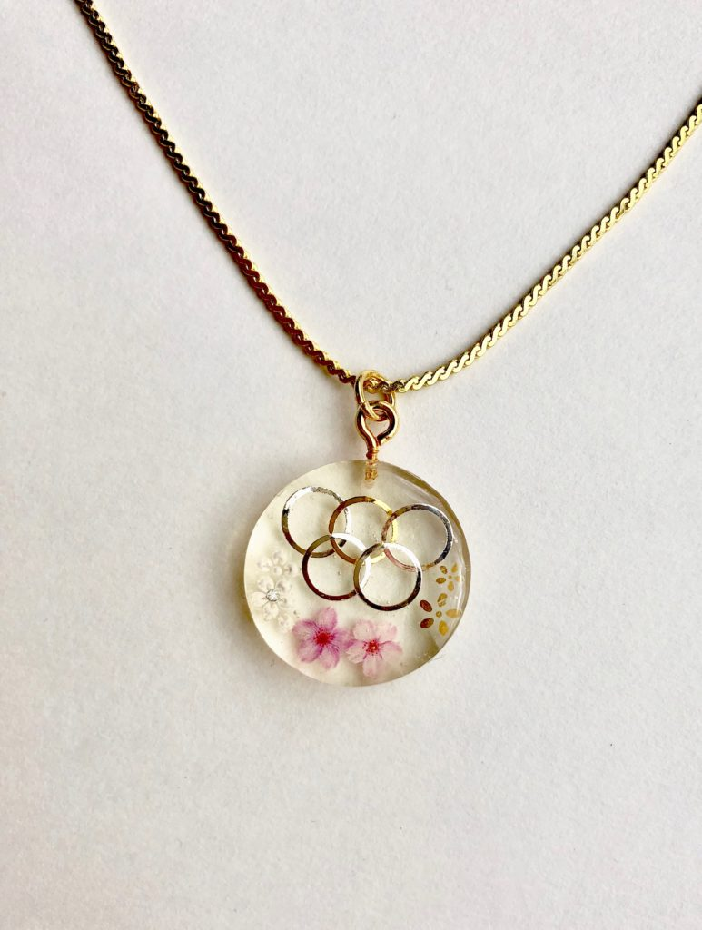 2020 Tokyo Olympic necklace