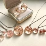 Japanese style Sakura cherry blossoms jewelry