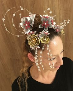 Our handmade Kanzashi hair accessories