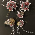 Handmade Kanzashi hiar accessory