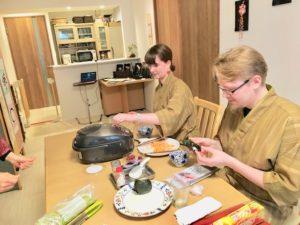 Onigiri making