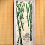 Japanese ZEN style bamboo painting wall decor