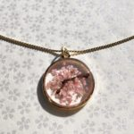 Sakura cherry blossom jewelry on Etsy shop