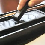 rub ink with ink stone