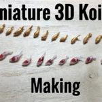 miniature 3D koi fish making YouTube video
