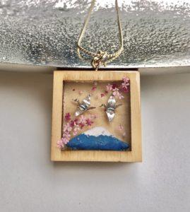 Miniature Orizuru jewelry
