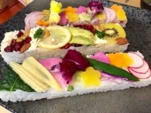 pressed vegan sushi