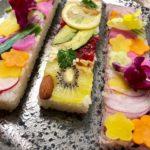 vegan pressed sushi